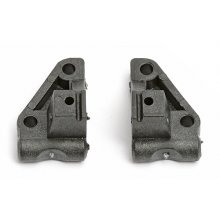 Front Suspension Mounts, Black, RC10