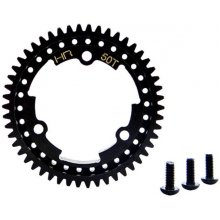 Hot Racing Steel Center Spur Gear, 50T- X-Maxx