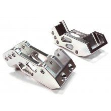 Aluminum Machined 4 Link Susp Mounts, Silver, 1pr, Yeti
