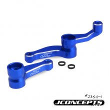 Alum. Steering Bellcranks, Blue, RC10B5/B5M/T5M