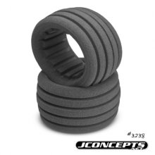 Jconcepts Dirt Tech 1/10 Truck/ ST Inserts,Gray, 1pr.