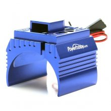 Aluminum Cooling Fan, 1/8 Scale Motors- Blue
