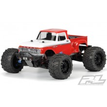 F-100 Pickup Body, clear, HPI/TRX MTs