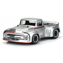 1956 Ford F-100 Pro-Touring Street Truck Clear Body, for Slash 2wd, Slash 4x4 & 1/10 Rally