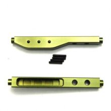 Aluminum Machined HD Rear Lower Susp. Links, Green, 1pr, Yeti