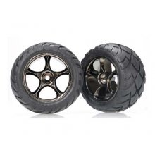 """Anaconda 2.2"""" Tires/ Tracer Blk Chrome Wheels, Mounted, Pin Mnt"""