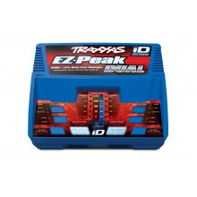 Traxxas EZ-Peak Dual 100W NiMH/LiPo dual charger with iD Auto Battery Identification