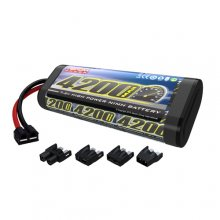 4200 NiMH 7.2v 6cell Flat Sport pack with Universal Connector System