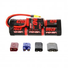 4200 NiMH 8.4v 7cell Hump Sport pack with Universal Connector System