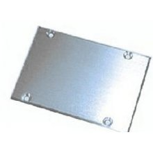 FFR001  Satin Alum. Center Skid Plate