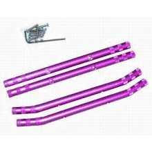 FFR003P  Purple Curved Ft & Rr Bumper Set